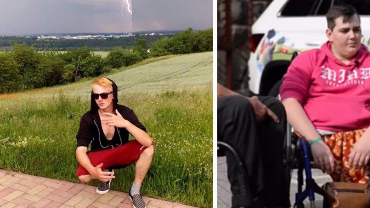 Dan (19) přišel kvůli klukovině o polovinu těla: V nejhorších chvílích ho opustila i rodina