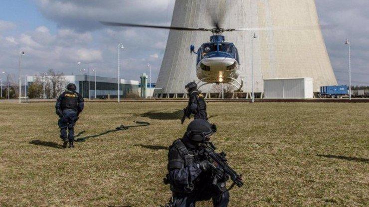 Jaderná elektrárna Dukovany je připravena na teroristický útok