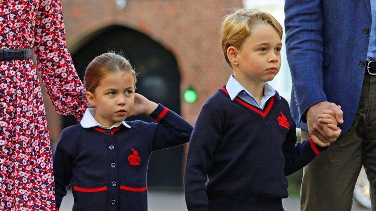 Královské děti George a Charlotte v ohrožení: Spolužáci jsou v podezření z nákazy