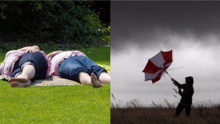 Týdenní předpověď: Blíží se tropická vedra, teplotní skoky a brutální bouřky