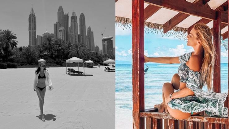 Slavné krásky prchají k moři: Marešová zvolila Dubaj, Verešová zase Seychely