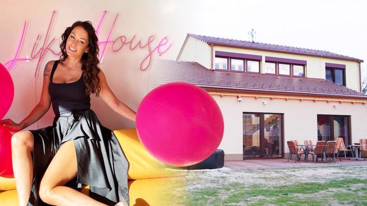 Nová vila Like House 2 odtajněna: Podívejte se, kde bude řádit Agáta Hanychová spolu s ostatními