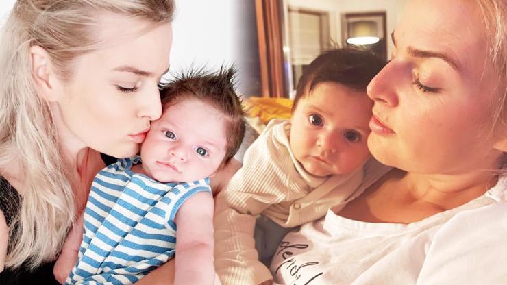 Dojemné foto: Nikol Leitgeb znovu objímá své miminko, které zachránil manžel