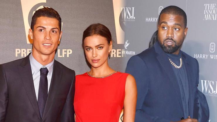 Po Cristianu Ronaldovi klofla další hvězdu: Žhavá Irina má být novou láskou Kanyeho Westa