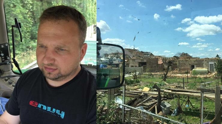 Marian Jurečka pro eXtra.cz: Následky po tornádu bych přirovnal k vybombardovanému Mosulu, říká politik