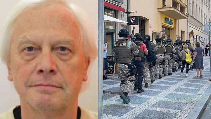 Temná minulost střelce z Prahy: Útočil kyselinou a líčil výbušné pasti