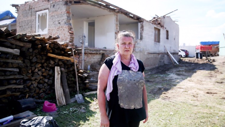 Před měsícem splatila hypotéku, nyní nemá nic: Dům paní Dagmar (53) bude zdemolován