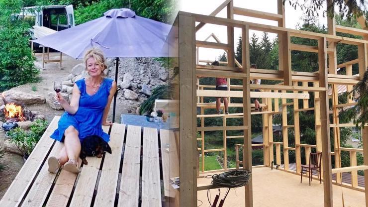 Instanews: Lucie Benešová si staví svůj vysněný domek
