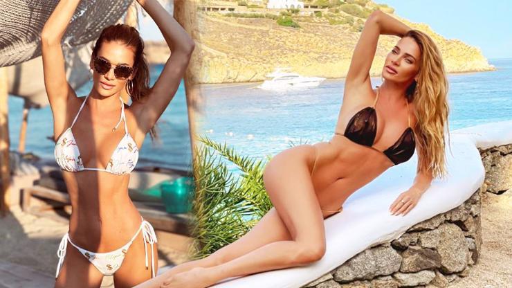Andrea Verešová je bohyně peněz: Tělo vystavila v plavkách posetých dolary