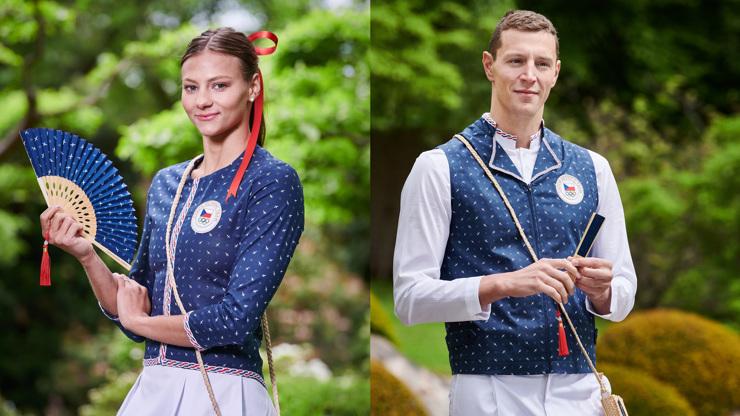 Olympijské hadříky Česka do Tokia odhaleny: Jak se vám líbí