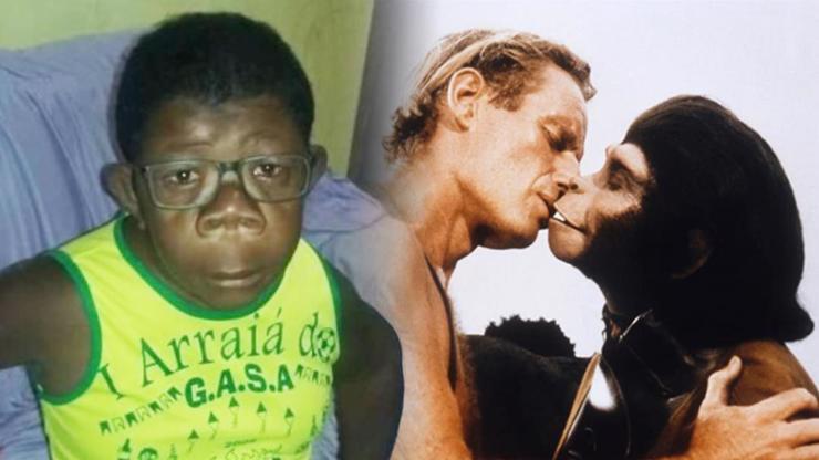 Žena šokuje: Syna Gustu mám se šimpanzem, poznali jsme se v zooparku