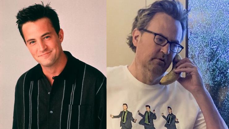 Matthew Perry alias Chandler svým vzhledem děsí fanoušky: Herce, co vymyslel Přátele, semlely drogy