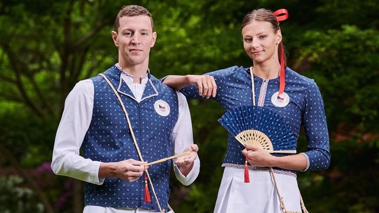 Oblečení olympioniků rozdělilo Česko: Vypadá to jako od cimbálu, řičí jedni, jiným se to líbí