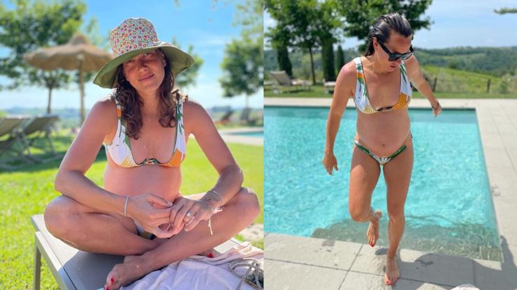 Těhotná Bára Strýcová se ukázala v bikinách. Úspěšná tenistka vypadá skvěle