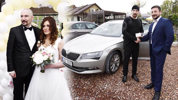 Pohádkový svatební dar: Bohuš a Lucie Matušovi dostali bourák za milion