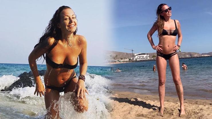 Agáta Hanychová: Po rozchodu jen září a chlubí se postavičkou jako před lety