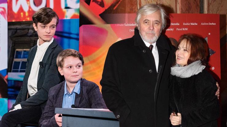 Vnuci Libuše Šafránkové a Josefa Abrháma: Pepa (14) a Tonda (12) promluvili o babičce s dědou