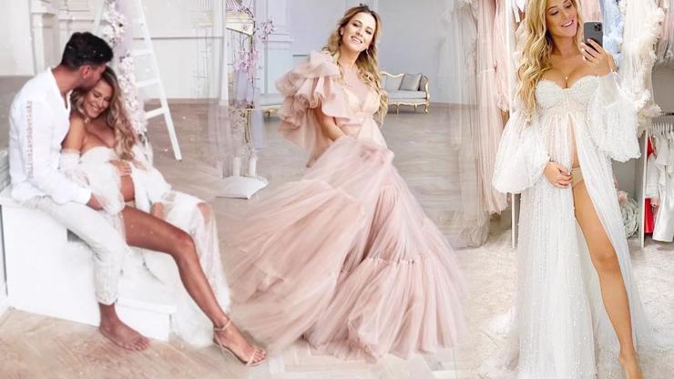 Roztomilostí se roztečete: Veronika Kopřivová nafotila těhotenské fotky, na kterých vypadá jako bohyně