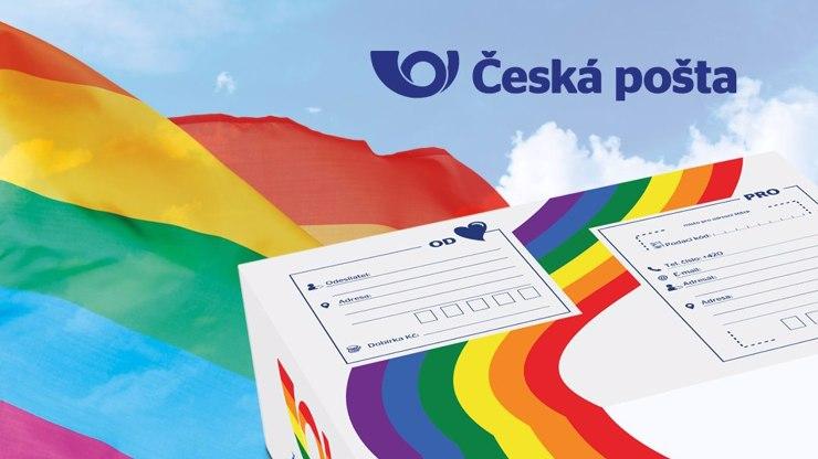Duhové doručování: Česká pošta podpořila homosexuály, ředitel je hrdý jako nikdy jindy