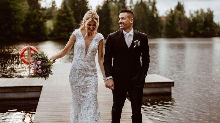 Dojemné video ze svatby Plekance a Šafářové: Ženich překvapil nevěstu nevšedním slibem