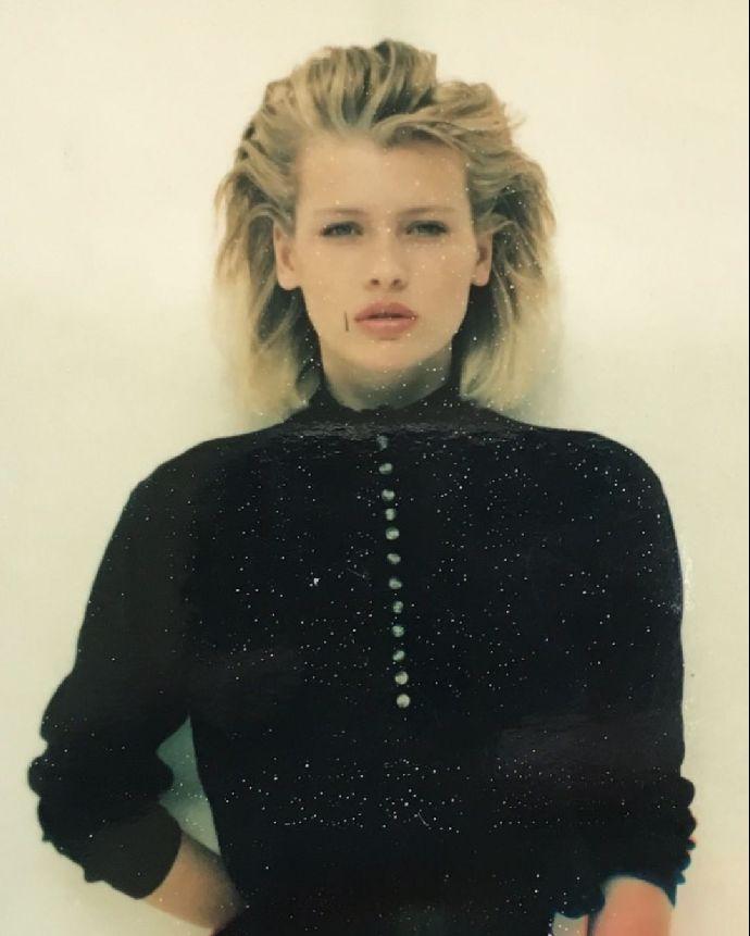 Daniela Peštová v začátcích své modelingové kariéry.