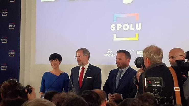 Koalice SPOLU chce jednat s koalicí PirSTAN.