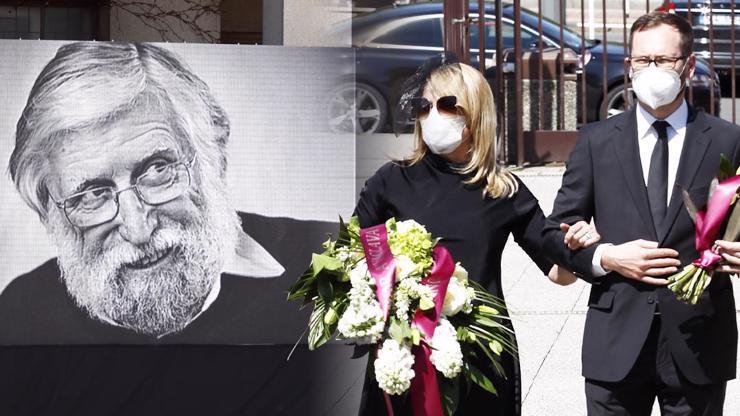 Dojemné rozloučení s Ivanem Havlem obrazem: Dagmar Havlová byla k nepoznání
