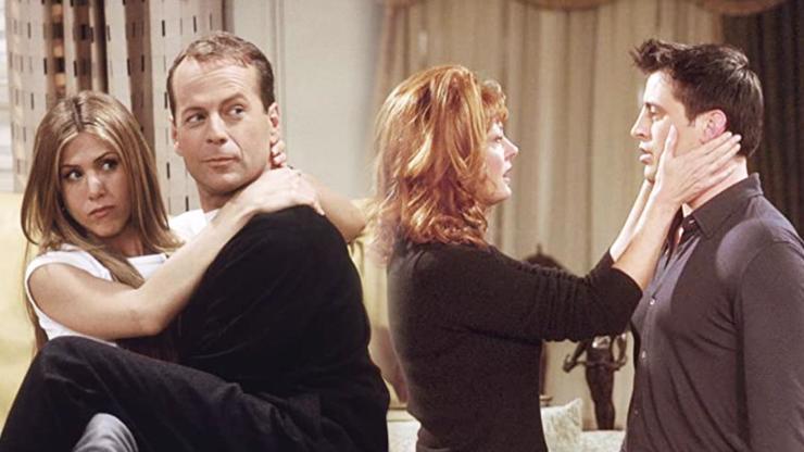 10 nejlepších hvězdných hostů seriálu Přátelé: Bruce Willis i Susan Sarandon