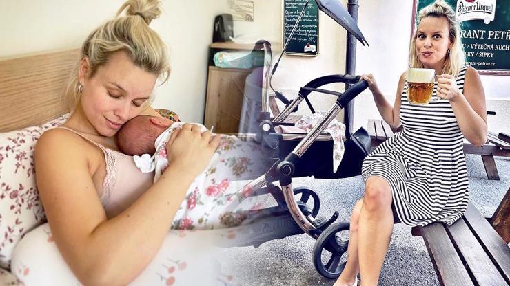 Kojící Patricie Pagáčová to má na háku: Maminky nadchla pivem a nadhledem