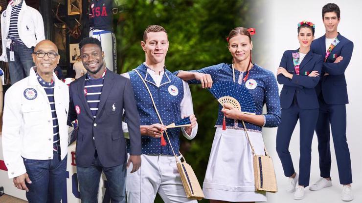 Olympijské oblečení: Kanada v posprejovaných džískách, Češi s vějíři a další