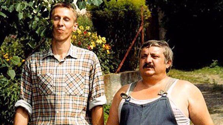 Nerozlučná dvojka z ikonické české komedie.