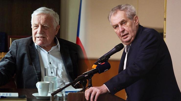 Prezidenty trápí zdraví: Václav Klaus s Milošem Zemanem skončili ve stejné nemocnici