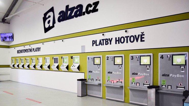 Jediná výjimka je vyzvednutí zboží v showroomu v pražských Holešovicích.