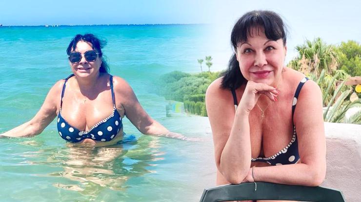 Tohle nám Xénie z Arabely nikdy neukázala: Dáda Patrasová ukončila plavkovou sezonu