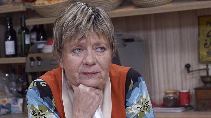 Drbna Nyklová z Ulice v nemocnici: Jaký je stav Jaroslavy Obermaierové