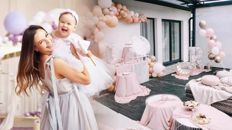 Dcera Moniky Bagárové Ruminka oslavila jeden rok: Takovou kouzelnou oslavu pro ni připravila