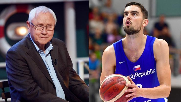 Nejde o shodu jmen: Herec Jaroslav Satoranský má na olympiádě příbuzného. Je jím slavný basketbalista