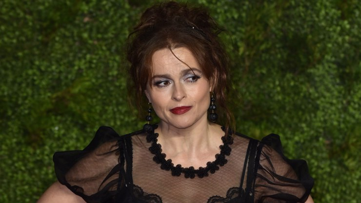 Herečka Helena Bonham Carter je jako chameleon. Dokáže zahrát vílu, ale i vražedkyni