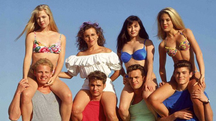 Beverly Hills 90210 po 31 letech: Smrt, plastiky i neštěstí v lásce