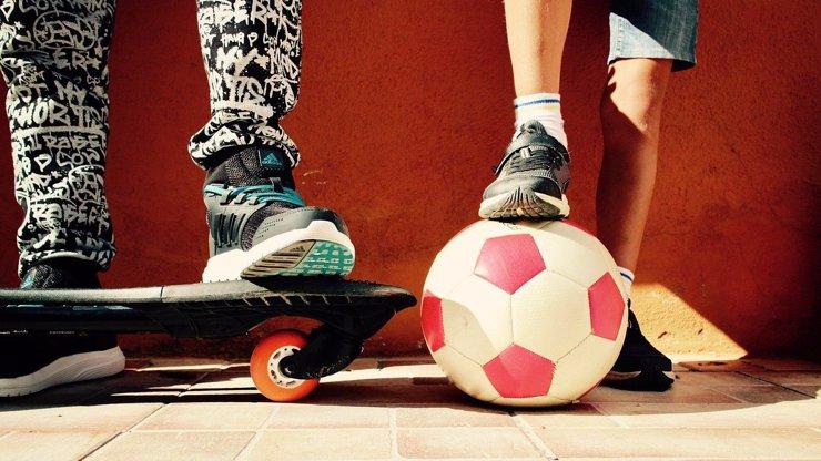 Nejvhodnější aktivity pro děti do deseti let: Pro tříleté běhání, pro šestileté kolektivní sporty