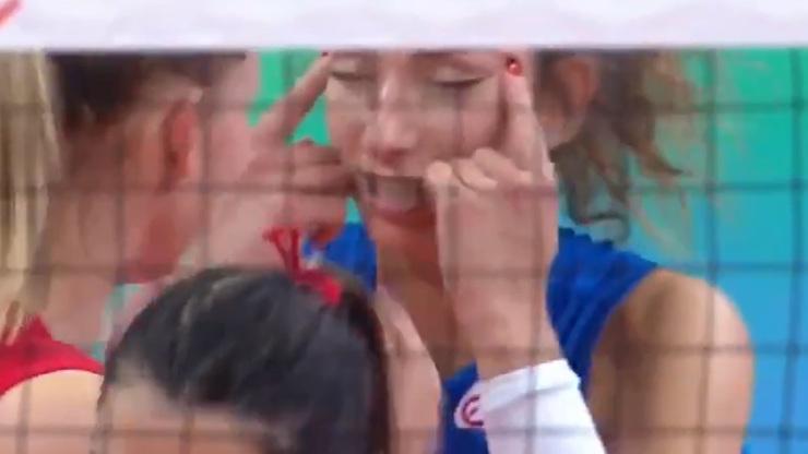 Skandál na volejbale: Hráčka rasisticky urážela soupeřky, dělala na ně šikmé oči