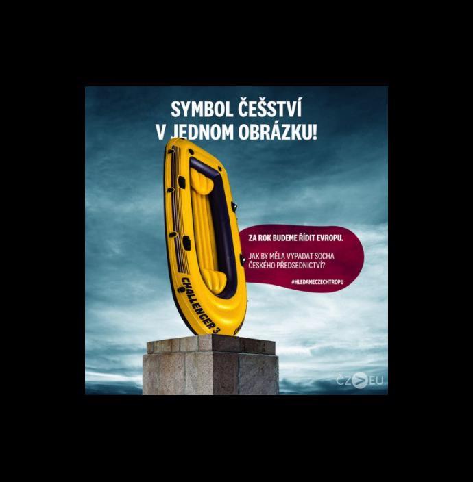 Zemanův člun, ponožky v sandálech, 3D tiskárna: Češi vybírají symbol pro naše předsednictví EU