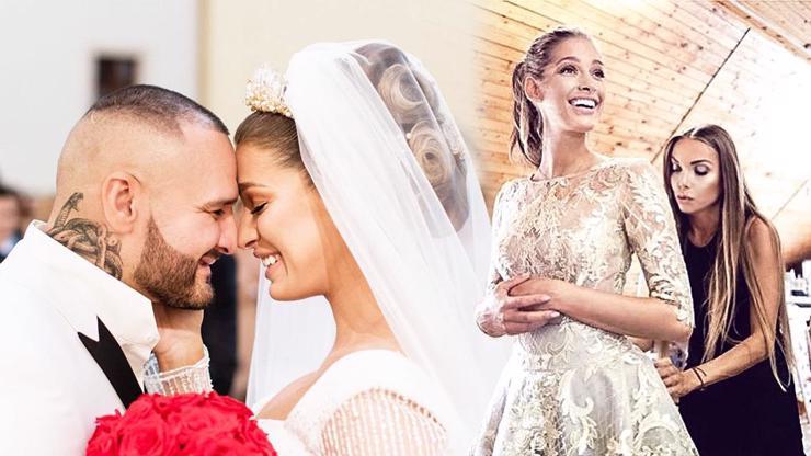 Rytmus a Jasmina Alagič slaví 2 roky od svatby: Pohádkové šaty stály stejně jako nové auto
