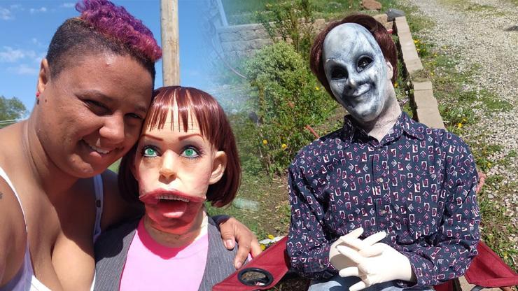 Felicity Kadlec Rossi: Žena se provdala za zombie panenku