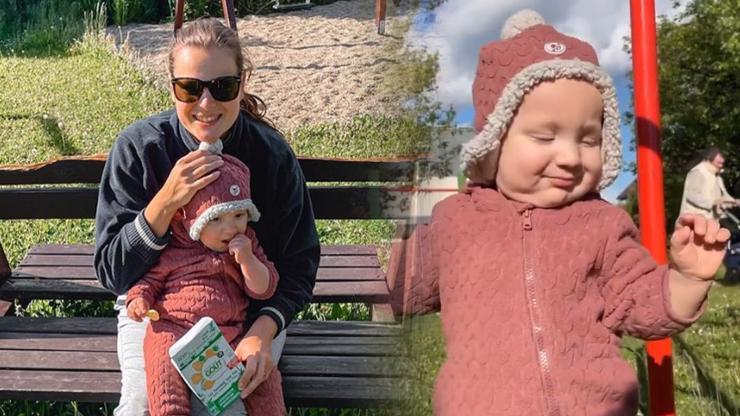 Ornella Koktová po operaci venčí syna: Roční Sven jako by tatínkovi z oka vypadl