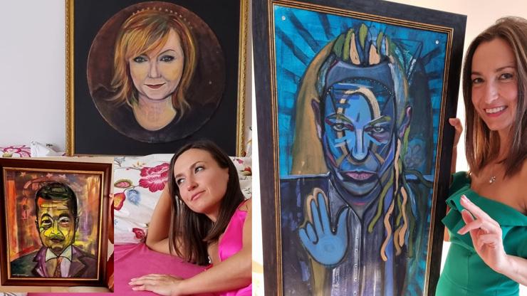 Schillerová s Gelemovou v posteli: Múza Felixe Slováčka namalovala politiky