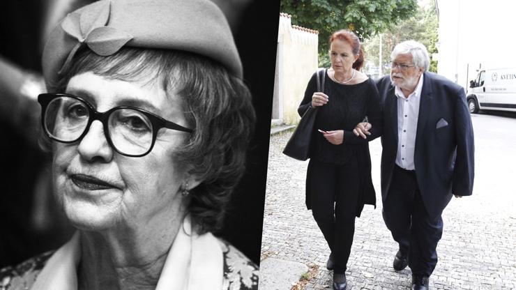 Pohřeb Niny Divíškové: Zdrcený Jan Kačer den po loučení se Šafránkovou pochovává ženu