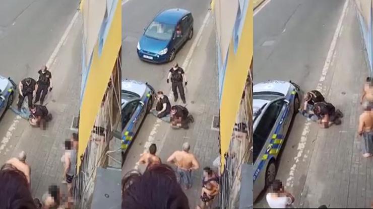 Český George Floyd? Lidé chtějí za zakleknutí Roma hlavy policistů, jiní se jich zastávají