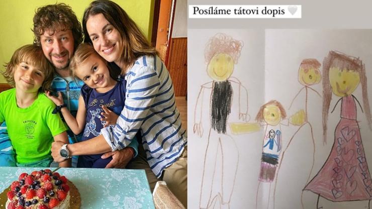 Dojemný dopis do vězení: Miss Lucie Křížková s dětmi přichystala pro manžela překvapení