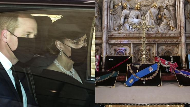 Pohřeb prince Philipa:  Loučí se smutná Kate, zdrcená královna i obyčejní lidé